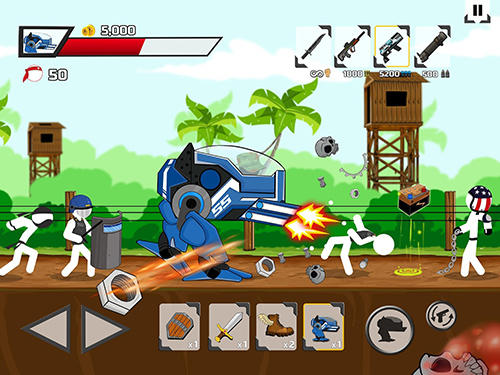 Stickman maverick: Bad boys killer für Android