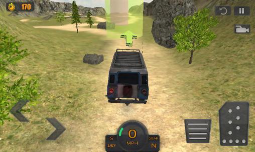 Simulator-Spiele Offroad driving adventure 2016 für das Smartphone