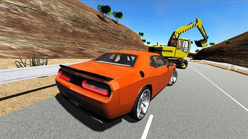 Muscle car challenger screenshot 1
