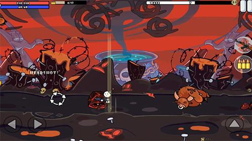 Strichmännchen-Spiele One gun 2 Stickman auf Deutsch