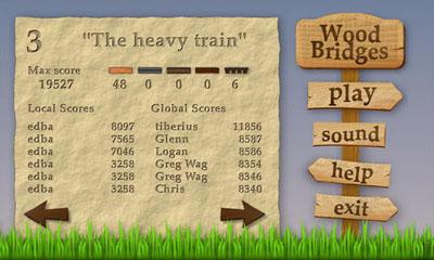 Wood Bridges скриншот 2