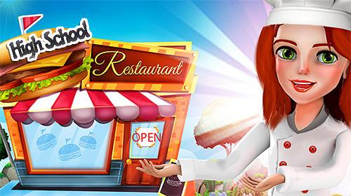 High school happy restaurant: Cooking games ícone