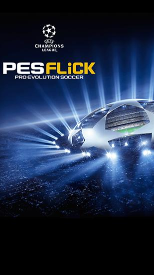 UEFA champions league: PES flick. Pro evolution soccer icon