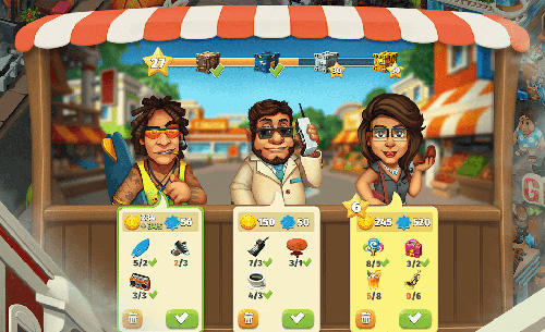 Trade island for Android