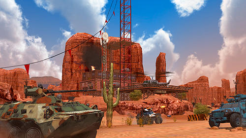Metal force: War modern tanks Screenshot
