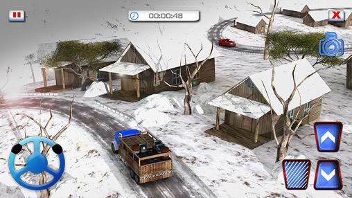 Snow hill offroad 4x4 truck 3D for Android