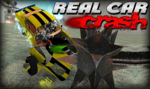 Real car crash icono