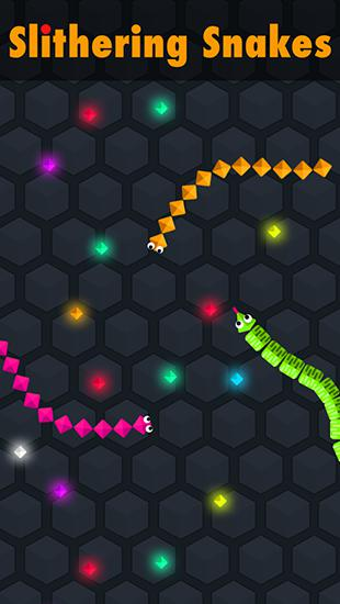 Slithering snakes Screenshot