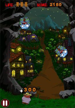 Egorge des Zombies! pour iPhone