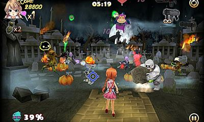 Zombie Panic in Wonderland pour Android