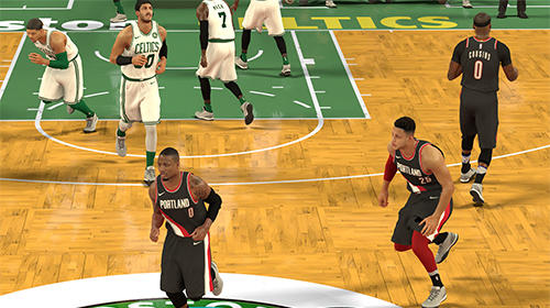NBA 2K Mobile basketball captura de tela 1
