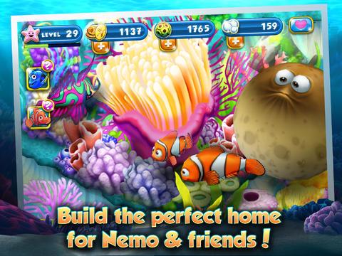Captura de tela O Mundo Subaquático de Nemo no iPhone