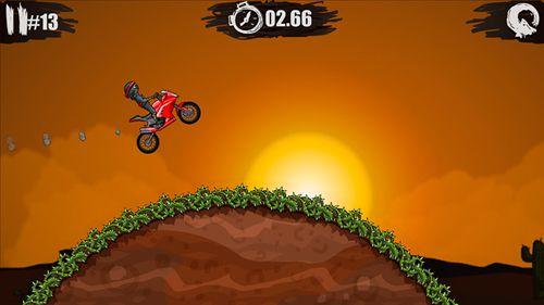 Screenshot Moto x3m auf dem iPhone