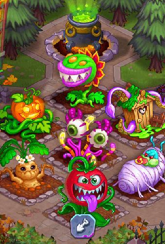 Arcade-Spiele Idle monster farm für das Smartphone