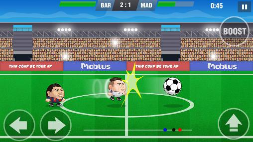 Mini football: Soccer head cup for Android