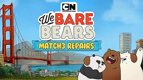 We bare bears: Match 3 repairs скріншот 1