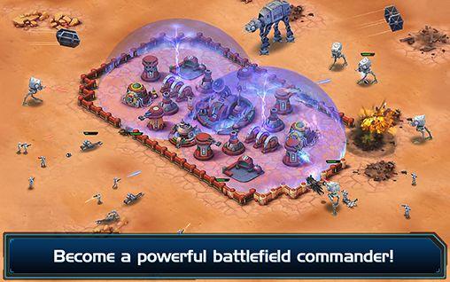 Online Strategiespiele Star wars: Commander auf Deutsch