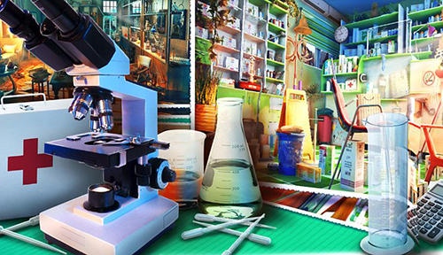 Hidden objects: Secret lab для Android