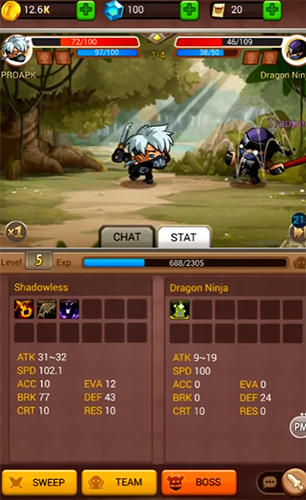 Chaos fighters 3 pour Android