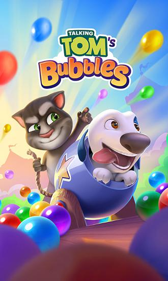 Talking Tom's bubbles Screenshot