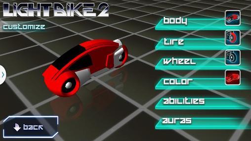 Racing games Lightbike 2 for smartphone