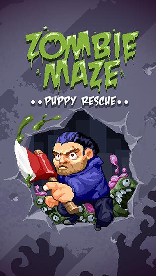 Иконка Zombie maze: Puppy rescue