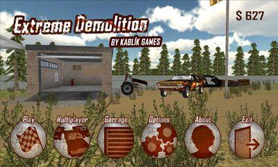 Extreme Demolition captura de pantalla 1