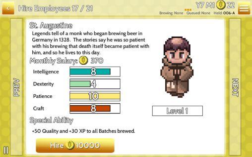Wirtschafts-Strategien Fiz: Brewery management game auf Deutsch
