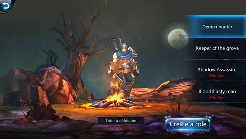 RPG-Spiele: Lade Dunkler Abstieg: Legende der Wache auf dein Handy herunter