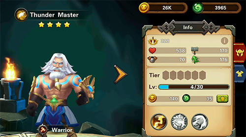 RPG-Spiele Amazing wizards für das Smartphone
