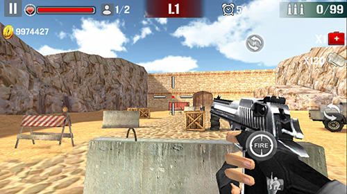 Sniper shoot fire war pour Android