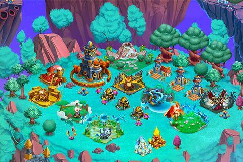 Strategiespiele: Lade Monster Legenden auf dein Handy herunter