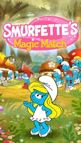 Smurfette's magic match Screenshot