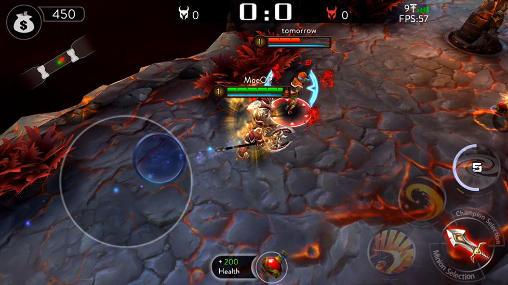 Ace of arenas captura de pantalla 1