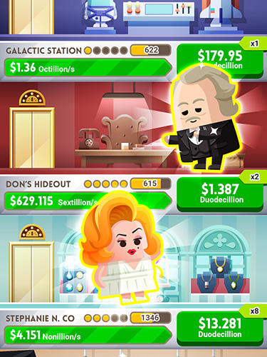 Cash, Inc. Fame and fortune game for Android