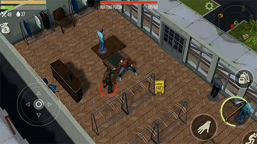 Actionspiele Prey for a day: Survival. Craft and zombie für das Smartphone