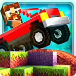 Blocky roads icon