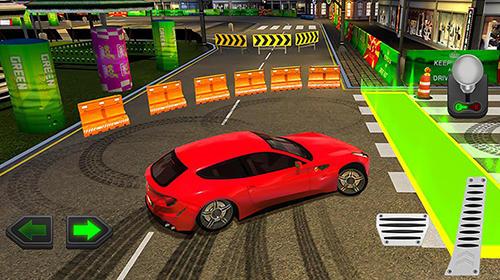 Rennspiele Action driver: Drift city für das Smartphone