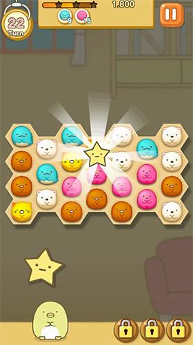 Logikspiele Sumikko gurashi: Our puzzling ways für das Smartphone