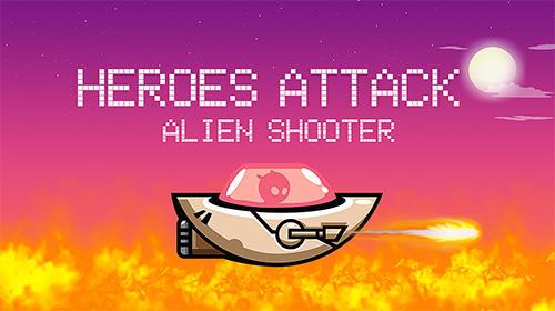 Heroes attack: Alien shooter Symbol