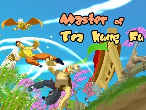 logo Meister des Kung Fu mit Tee