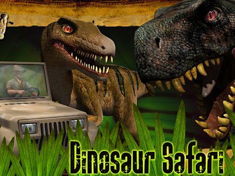 logo Le Safari de Dinosaures