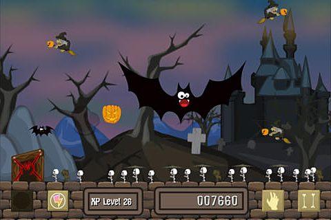 Arcade-Spiele: Lade Untot an Halloween auf dein Handy herunter