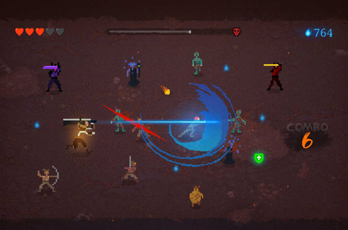 Arcade-Spiele: Lade Dark Slash: Held auf dein Handy herunter