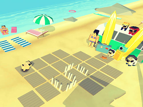 Party pugs: Beach puzzle go! pour Android