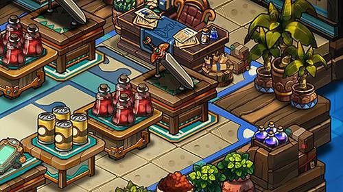 Arcade-Spiele Tiny shop: Cute rpg store für das Smartphone