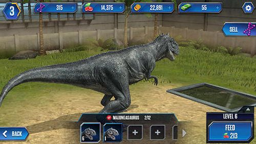 Jurassic world: The game in English