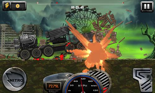 Arcade Mad hill climb police racing for smartphone
