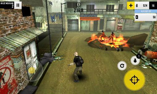 Last run: Dead zombie shooter für Android
