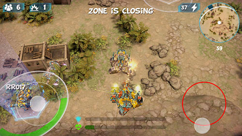 RoboRoyale : Battle royale of war robots para Android